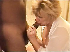 Busty mature cuckold slut ass fucked by younger BBC